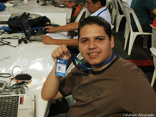 Edwin in Campus Party