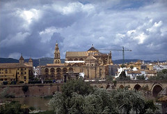 The Great Mosque of Cordoba: A view of the mos...