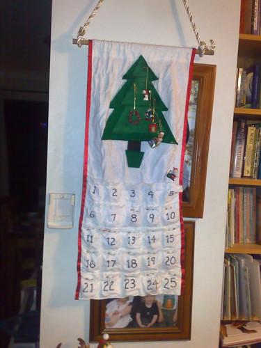 I found the advent calendar