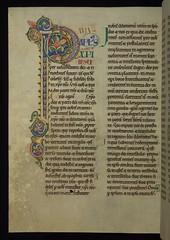 Illuminated Manuscript, The Rochester Bible, W...