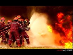 Man vs Fire