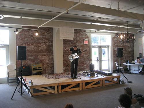 R. Keenan Lawler at Terrastock, 2008