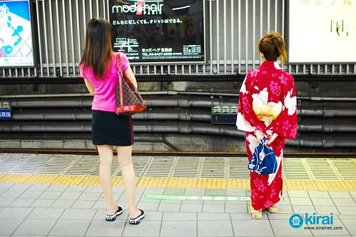 kimono minifalda