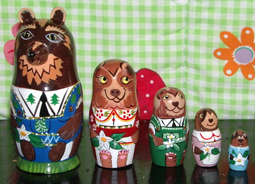 bear family set
