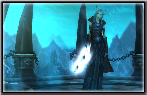 A Blood Elf Death Knight