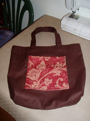 my new totebag - first ive ever made!