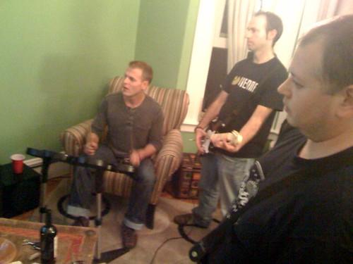 Tim, Eddie, Jason - Rockin' it.