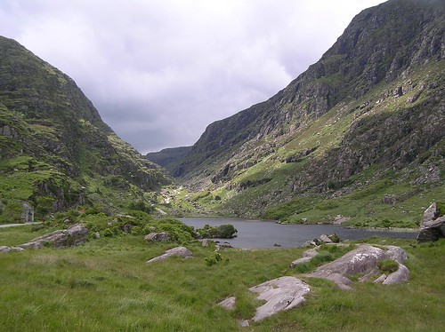 GAP OF DUNLOE IN THE IRISH COUNTRYSIDE by LCSTRAVELBUGGIN.