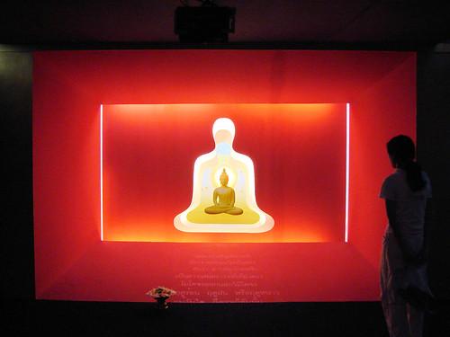 Wat Mahathat  Exposición sobre Buda.