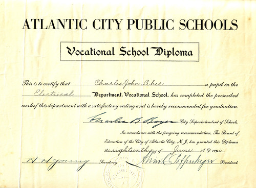 Cholly's Vocational School Diploma 1920.jpg
