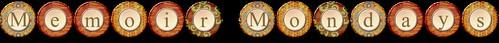 Memoir Mondays Logo