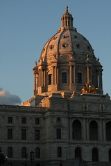 Capitol Dome at Dusk