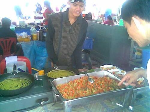 Sibu Ramadhan stall - roti jala