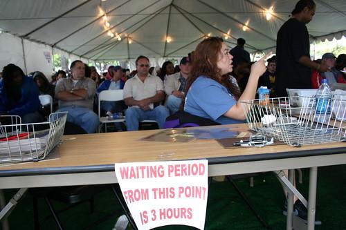 Early voting in Norwalk, CA