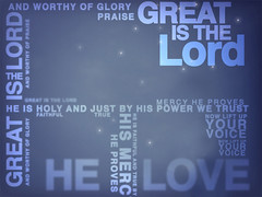 Worship BG - Great is the Lord
