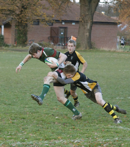 York Rugby 2nds 19-11-08: Sam Newsome