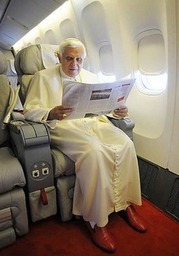 Pope Benedict XVI visits Australia for WYD 2008 by Sam Herd