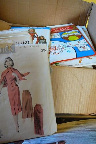 Oma's pattern box