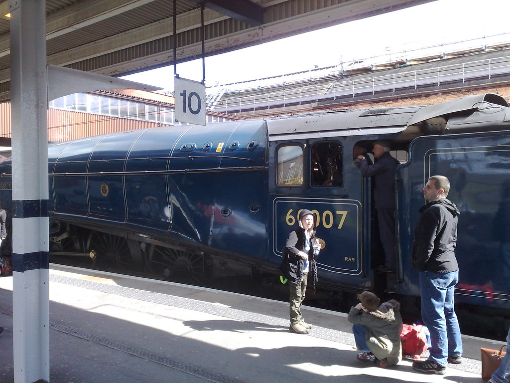 Steam Engine at York Station 1