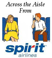 Across the Aisle form Spirit Airlines