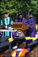 Three Wise Men, commencement speech, commencement, graduation, President Emmert, Quincy Jones, and the other guy.