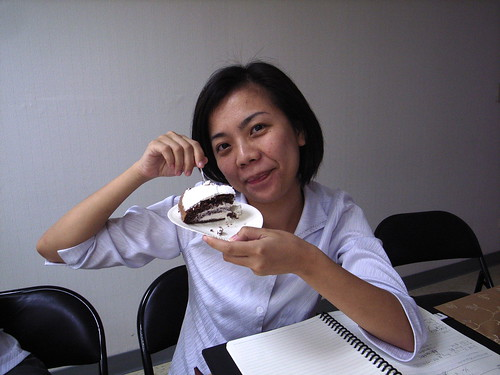 巧克力口味的蛋糕,我喜�