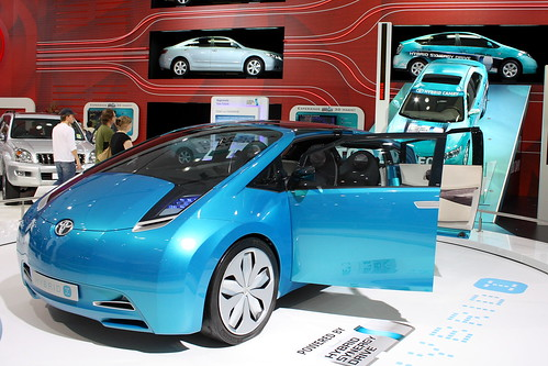 Toyota Prius Hybrid Synergy Drive concept car