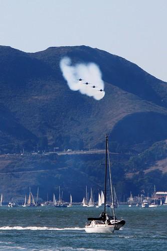 Fleet Week in San Francisco Bay