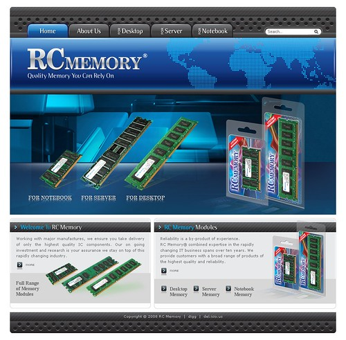 RC Memory - Home Page