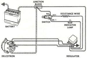 alternator wiring  Canadian Poncho