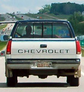 So cruised man auf unseren Highways