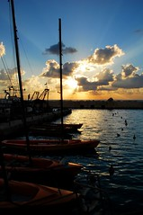Jaffa's beautiful harbor by Flickr user bachmont