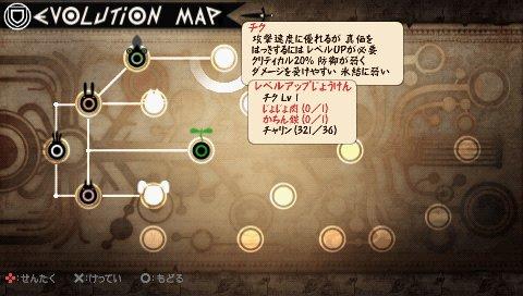 Evolution Map pada Patapon 2 Donchaka