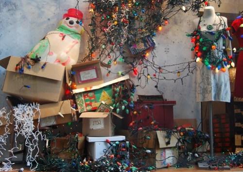 Anthropologie tangled christmas lights