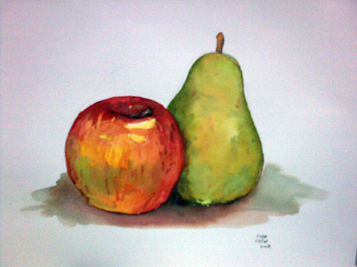 Still life - Watercolours