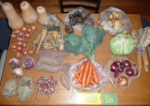 December Belmont CSA Winter Share