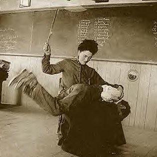 spanking in school