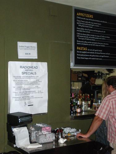 patina specials for radiohead at hollywood bowl