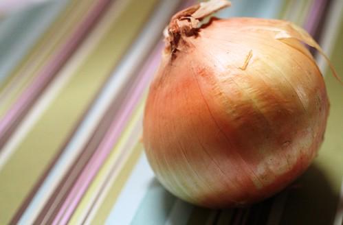 Sweet local onion