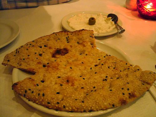 Nan Bread and Mast-o Mosier