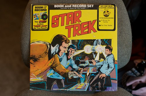 Star Trek Story Record #8 (Front)