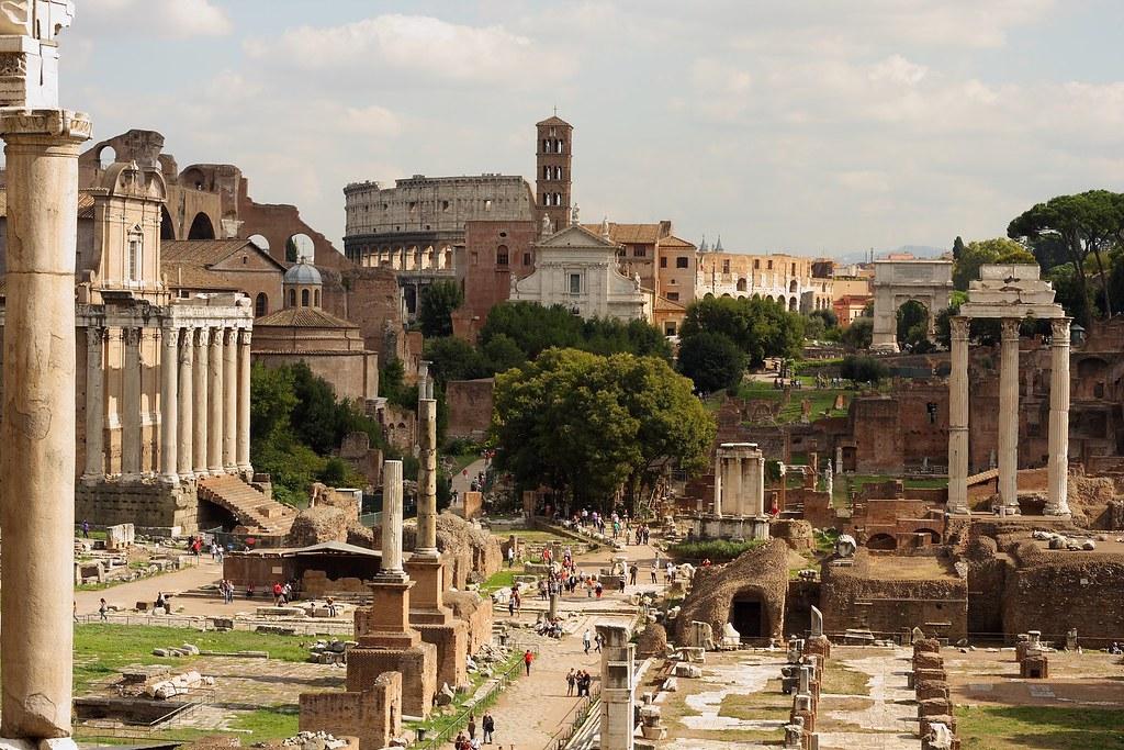 Foro Romano, vista