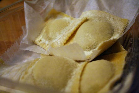 Handmade Porcini Ravioli