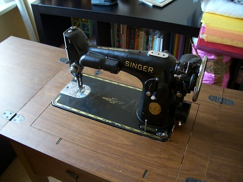 My Vintage Singer Sewing Machine
