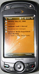 Default HTC Mogul Home Screen