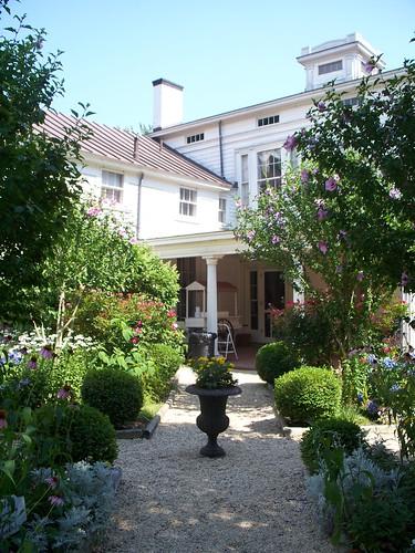 Back Door and Garden