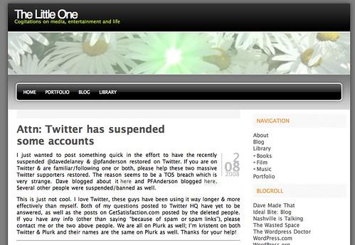 More Twitter Banning Stuff