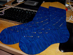 Pomatomus Socks Finished