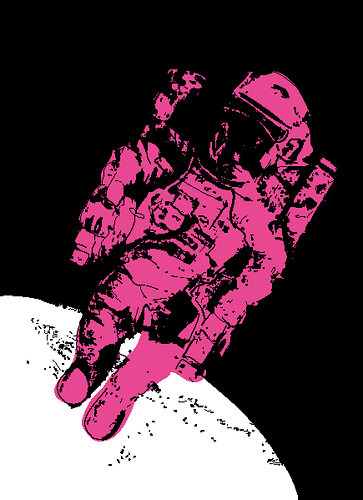 """Pop Art"" Spaceman"