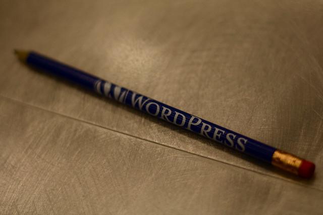 wordpress pencil